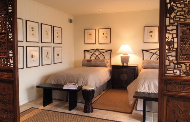 Beach Condo Renovation tropical-bedroom