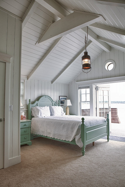Beach cottage beach style bedroom seattle by for Coastal bedroom design