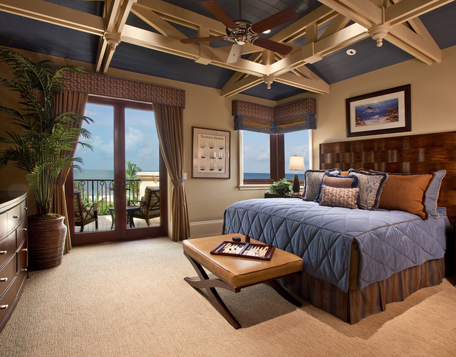 Beach Front I transitional-bedroom