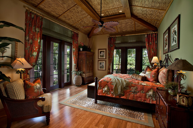 Beach Front I Tropical Bedroom Miami By Kurtz Homes Naples Adorable Tommy Bahama Bedroom Decorating Ideas