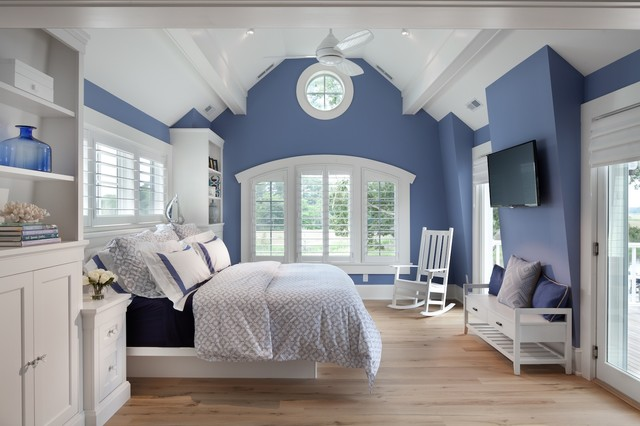 Beach house delight al mare camera da letto washington d c di anthony wilder design - Camera da letto casa al mare ...