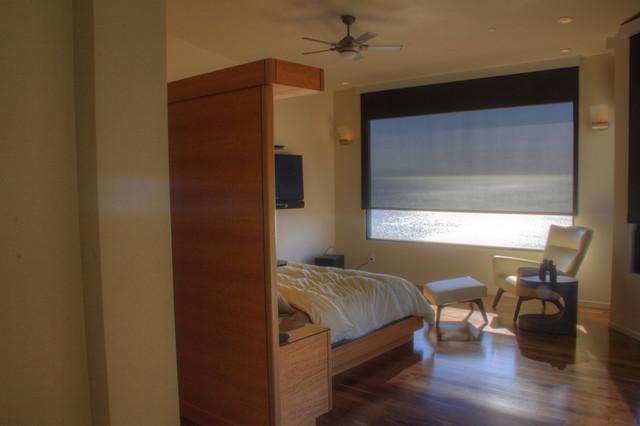 Beach House contemporary-bedroom