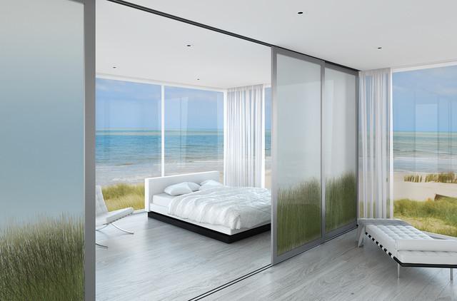 Beach House Master Bedroom Style Los