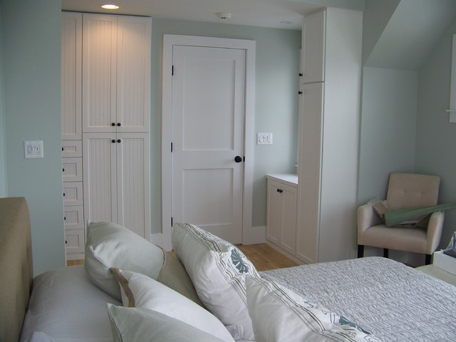 Beach house on cape cod amoire closet storage contemporary bedroom boston by expert - Cape cod style bedroom image ...