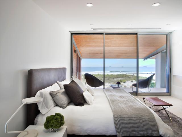 Beach House on Long Island  Beach Style  Bedroom  New