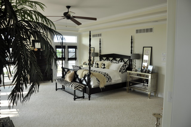 Beach House contemporary-bedroom