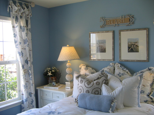 Coastal Inspired Girl's Bedroom