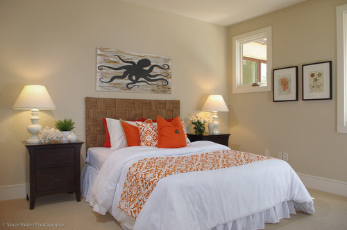 Beach Bedroom Octopus Art