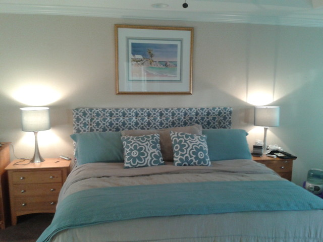 Beachy Master Bedroom Beach Style Bedroom Other by