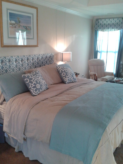Beachy Master Bedroom