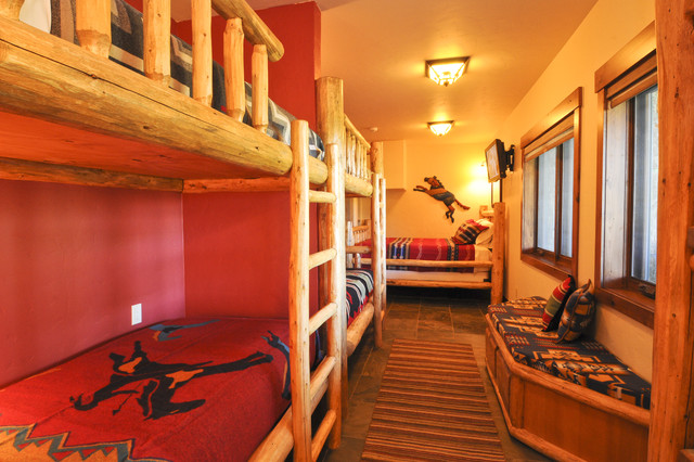 Bear Creek Cabin Bedroom Denver By Mountain Log