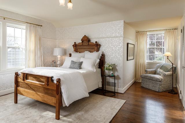Beard Residence Tudor Style Home Remodeltraditional Bedroom Portland