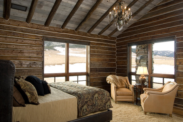 Beartooth Foothills Rustic Bedroom Other Metro By