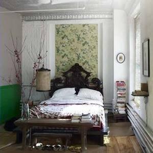 Beautiful bedrooms at livingetc.com eclectic-bedroom