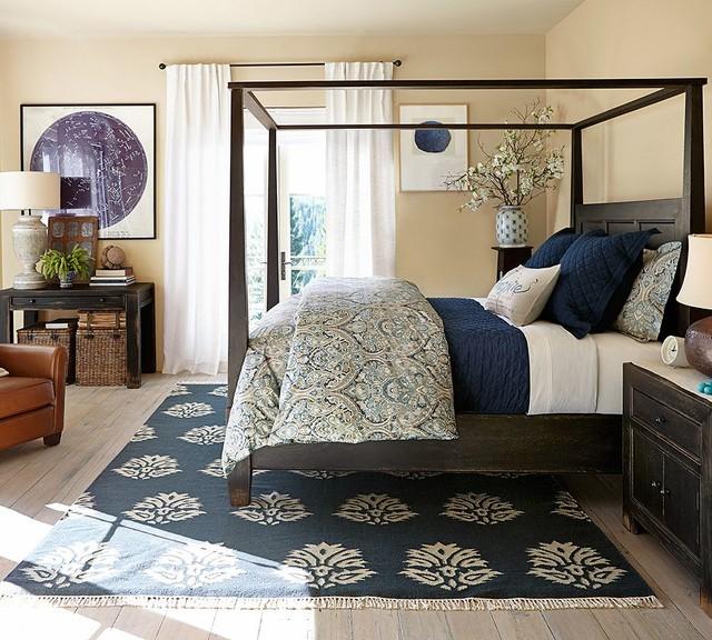 25 Stunning Transitional Bedroom Design Ideas: Beautiful Bedrooms