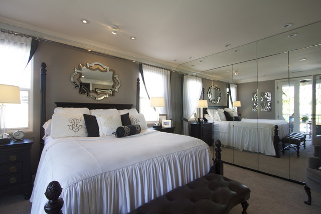 Beautiful master bedroom suite traditional bedroom san diego by robeson design - Pictures of beautiful bedroom suite ...