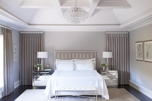 Beautiful Master Bedroom Suite Transitional Bedroom Philadelphia By Semerjian Interiors
