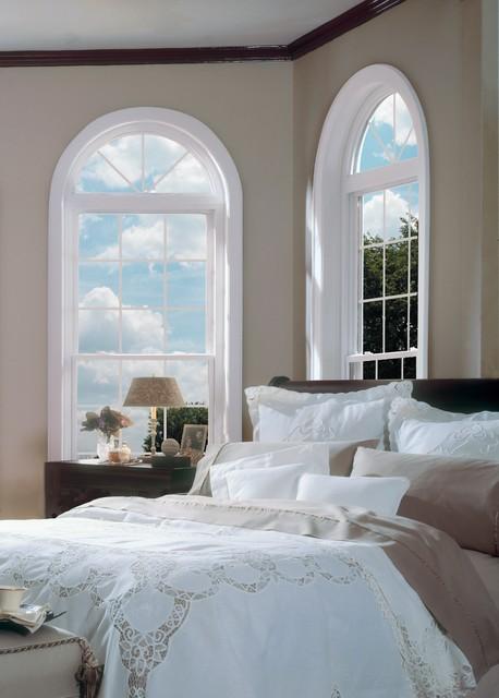 Beautiful Windows Make The Room traditional-bedroom