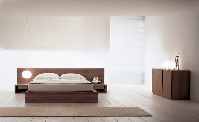 Example Of A Minimalist Bedroom Design In Philadelphia