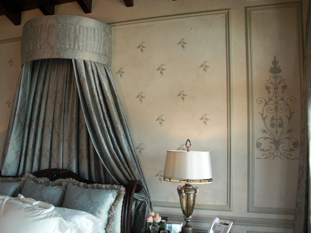 Bed Canopy and Wall traditional-bedroom & Bed Canopy and Wall
