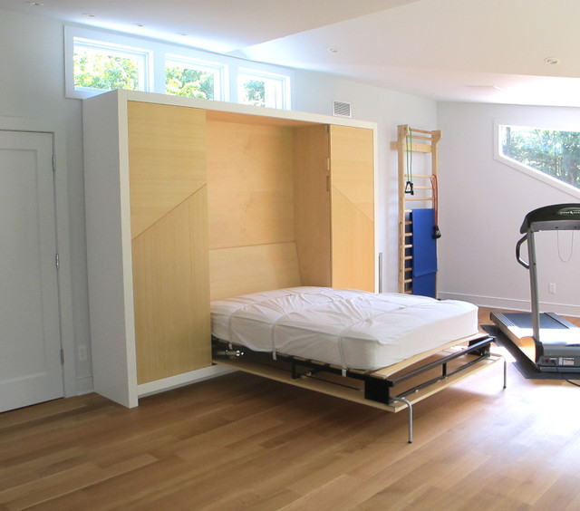 Bed-in-a-box modern-bedroom