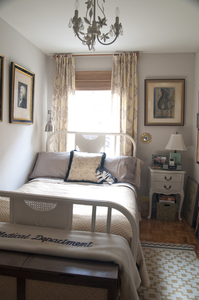 Bed With Custom Hamper Bench Shabby Chic Style Bedroom New York By Union Adorn