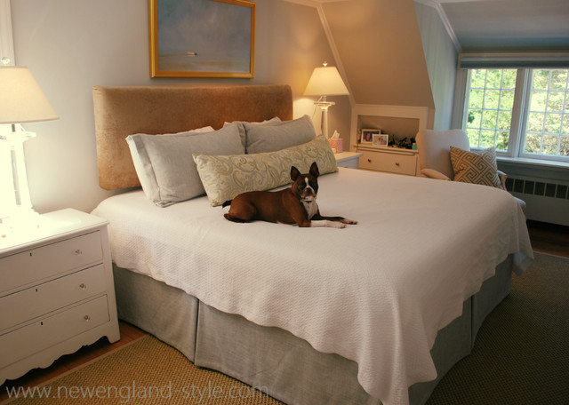 Bedding newengland traditional bedroom for New england style bed
