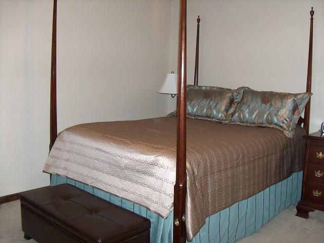 Bedding, Shams, Bed Skirt traditional-bedroom