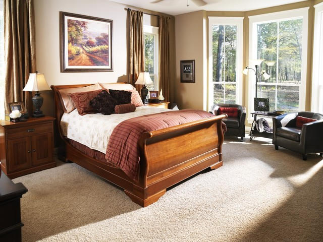 Sleigh Bed Houzz - Sleigh bed design ideas bedroom