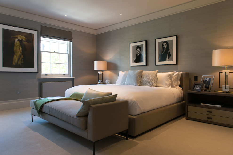 Bedford Gardens House Contemporary Bedroom London By Nash Baker Architects