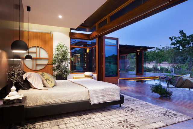 Bedfordale House - Asian - Bedroom - Perth - by Suzanne Hunt Architect