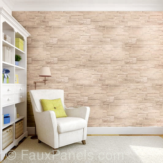 Bedroom Accent Wall Made With Decorative Wall Paneling