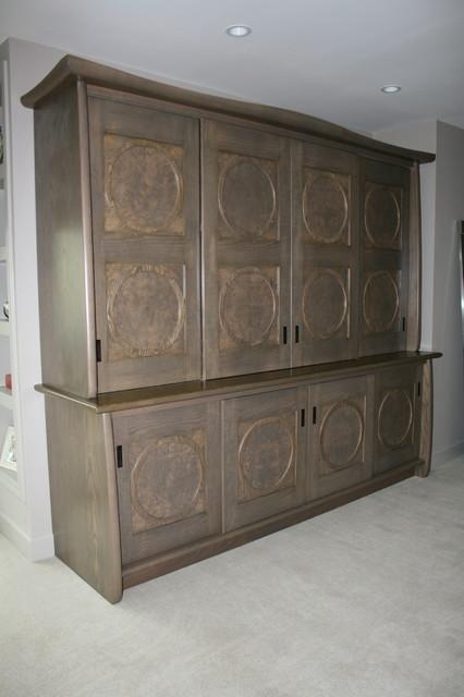 bedroom armoire media center contemporary bedroom san francisco
