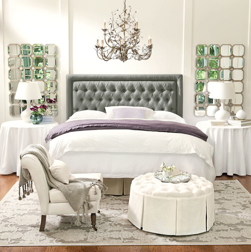 Contemporary Bedroom by Atlanta Furniture & Accessories Ballard Designs