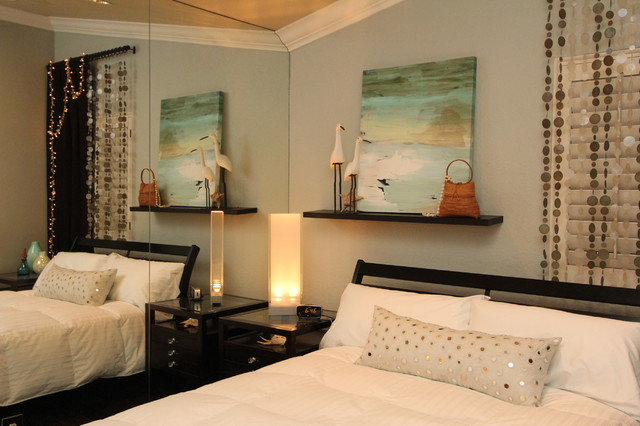 Bedroom, Beach Inspired Guest Bedroom