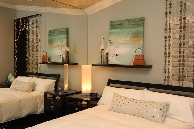 Bedroom, Beach Inspired Guest Bedroom
