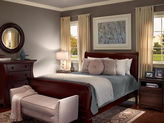 Behr® Contemporary-bedroom