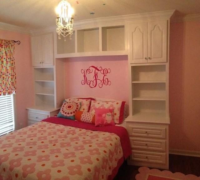 Bedroom Built-In Cabinets traditional-bedroom