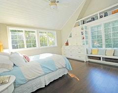 Bedroom built-ins transitional-bedroom
