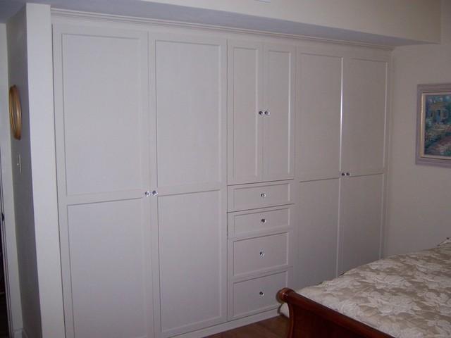 Bedroom Cabinets - Contemporary - Bedroom - Santa Barbara - by ...