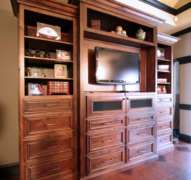 Bedroom Cabinets Traditional Bedroom charlotte by