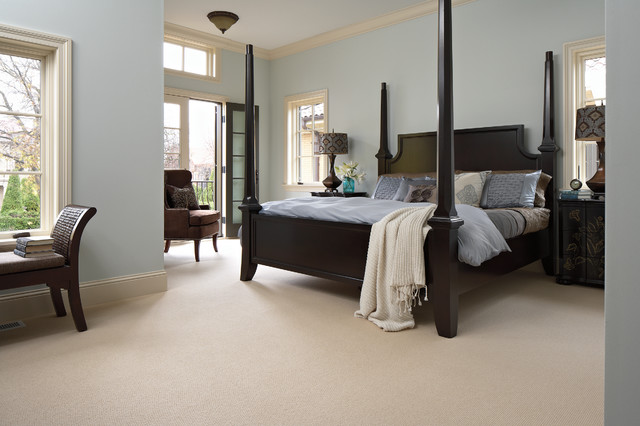 Traditional Bedroom Carpet : Bedroom traditional by carpet one floor home
