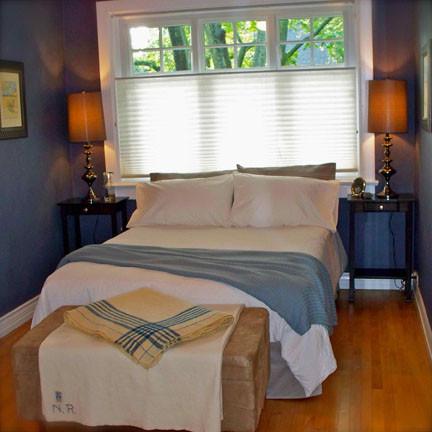 bedroom conversion - AFTER eclectic-bedroom