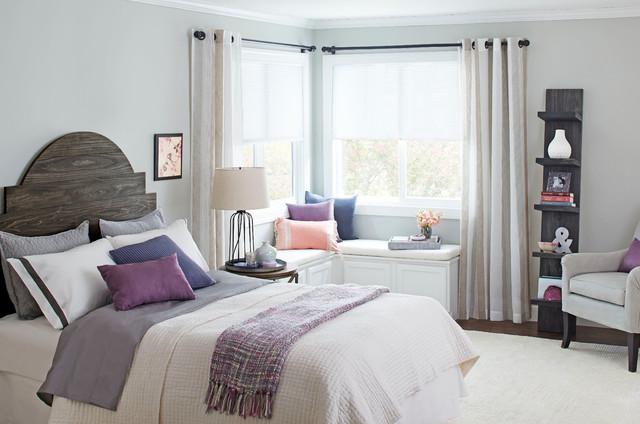 Bedroom decorating ideas di transizione camera da for 4 piani di camera da letto