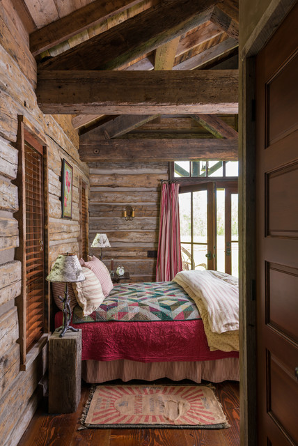 Bedroom elegance rustic bedroom other by miller for Rustic elegant bedroom