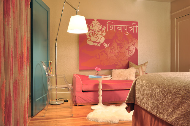 Bedroom For A Modern Hindu Courtesan Eclectic Bedroom