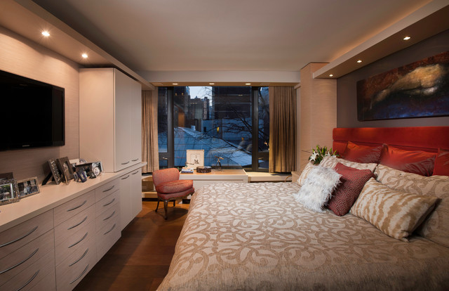 Bedroom - Contemporary - Bedroom - chicago - by Fredman Design Group