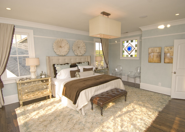 contemporary bedroom by FrontPorch
