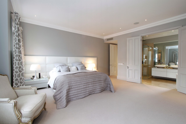 Bedroom Fulham Contemporary Bedroom London By VC Design - How to design a master bedroom suite