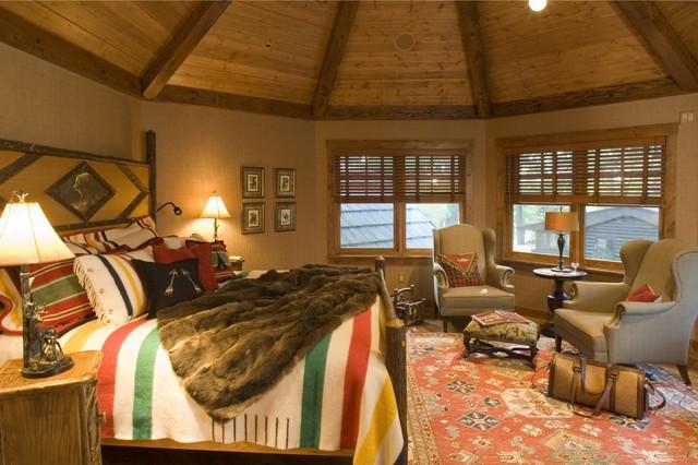 Bedroom Rustic Bedroom Minneapolis By Gabberts Design Studio